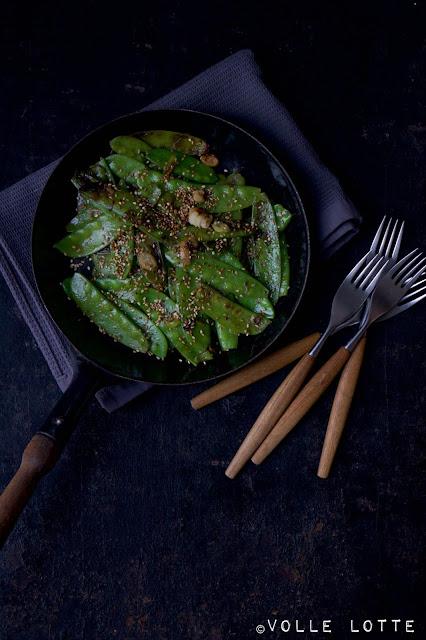 Blitzrezepte, Gemüse, Zuckerschoten, kochen, einfach, schnell, Familienrezepte