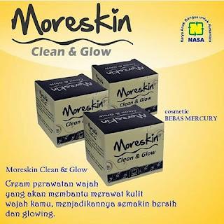MORESKIN CLEAN & GLOW NASA  -  DISTRIBUTOR MONGKOK
