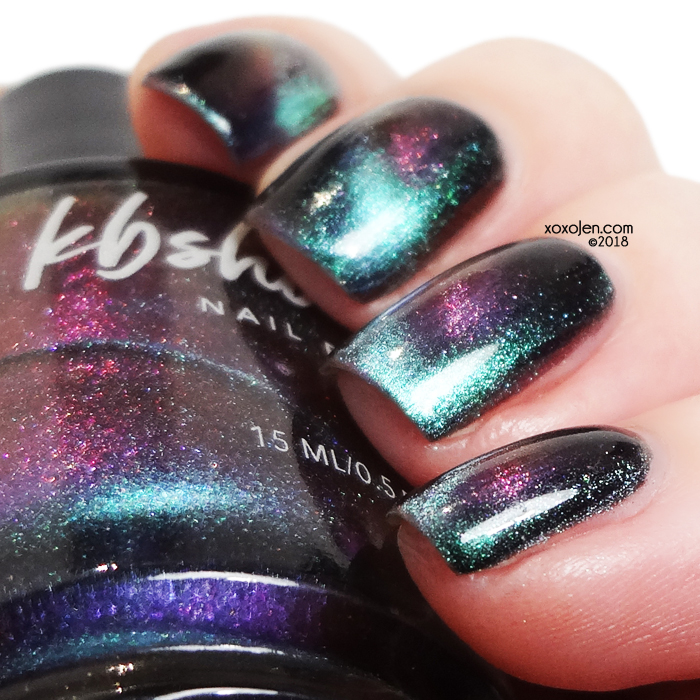 xoxoJen's swatch of KBShimmer Spaced Out