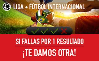 sportium Fútbol: Combinadas 'con seguro' hasta 29 abril