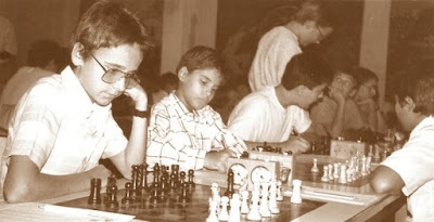 Así jugaban los infantiles en el XV Abierto Sant Andreu 1986