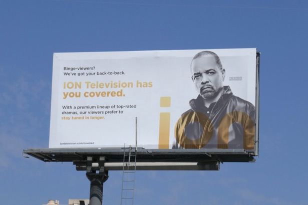 ION TV Law Order SVU billboard