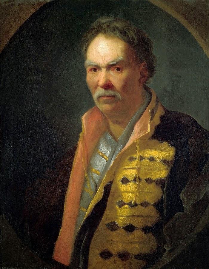 Портрет напольного гетмана, 1720-е. Государственный Русский музей, Санкт-Петербург.