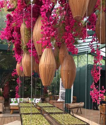 Clique da decoração, Clique da decoração, com flores em tons vibrantescom flores em tons vibrantes