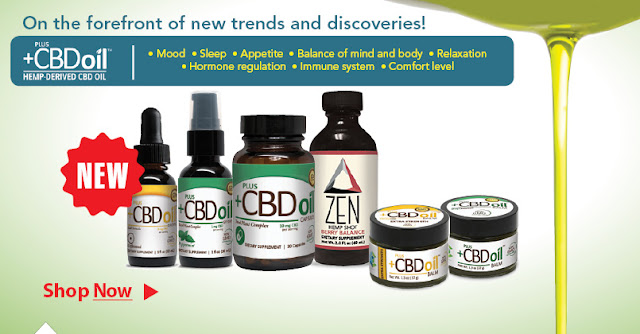 Botanic Choice New CV Sciences & PlusCBD Oil Products