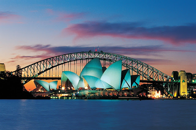 Sydney Harbour Bridge, Sydney NSW, Australia