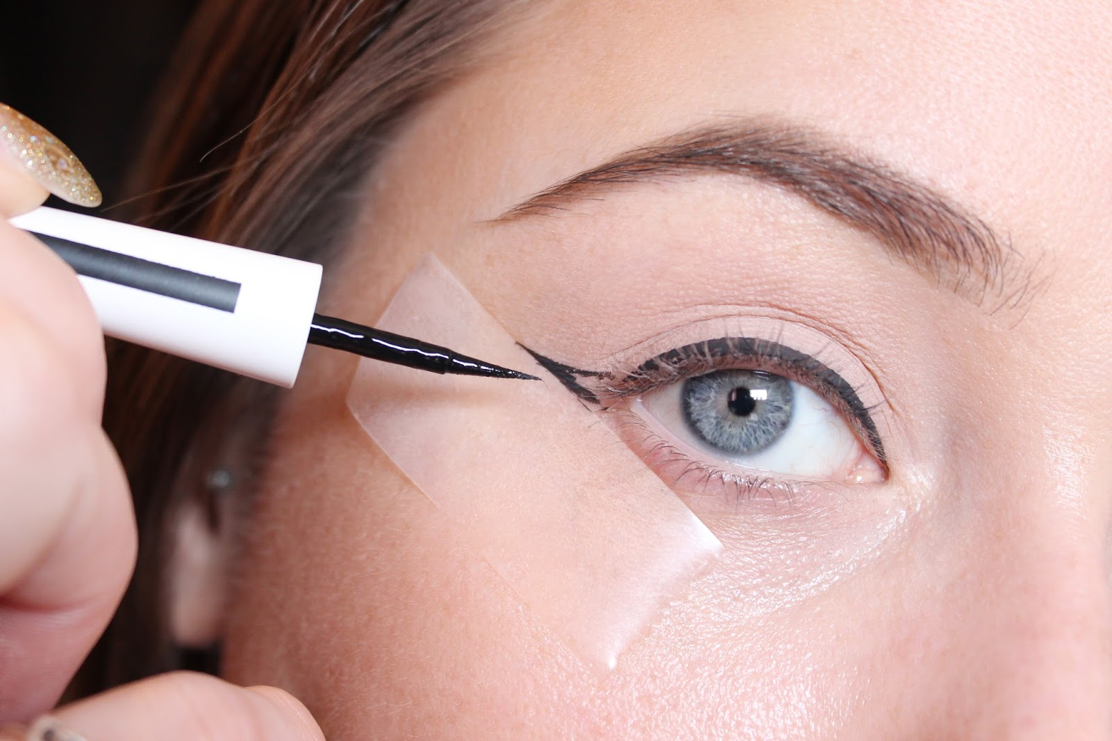 The Sticky Trick For Perfect Winged Eyeliner  BRITISH BEAUTY ADDICT