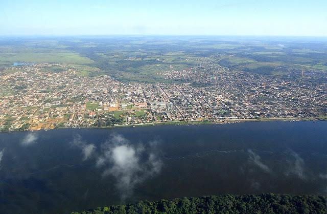 imagem aérea Altamira Pará