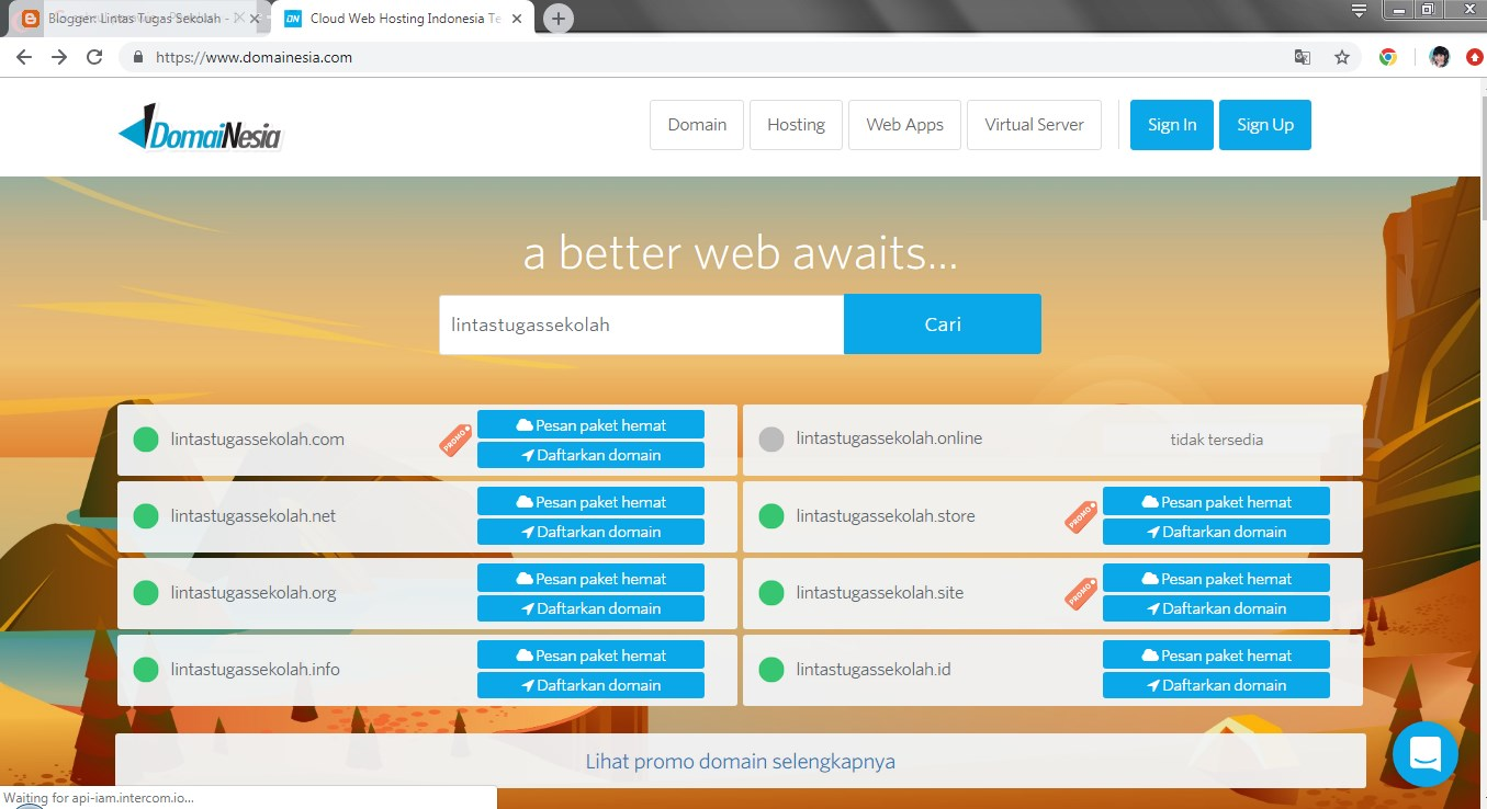 Tutorial Cara Beli Atau Order Domain Tld Di Domainesia Tutorial Online