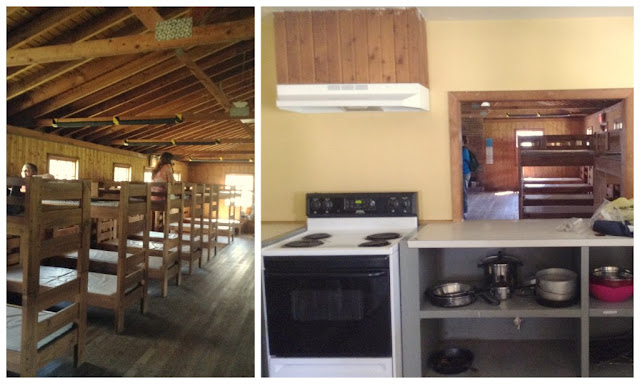 Inside on of the cabins at @GSNEO Camp Timberlane