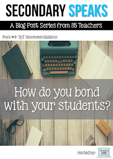 There are lots of ways for teachers to bond with students and build rapport. Experienced secondary teachers share their methods for bonding with students, including methods surrounding activities, conversation, and authenticity. Click through to read more!