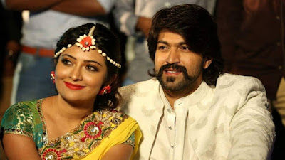 Radhika Pandit and Yash