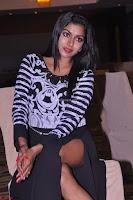 Akshatha in a lovely Leg Split Black Gown Cross legged Latest Stills 09.JPG