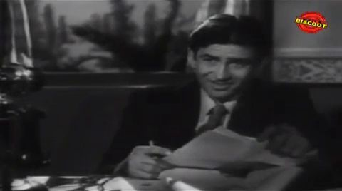 Screen Shot Of Hindi Movie Anhonee 1952 300MB Short Size Download And Watch Online Free at worldfree4u.com