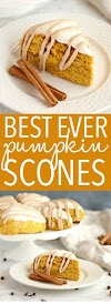 Best Ever Starbucks Pumpkin Scones