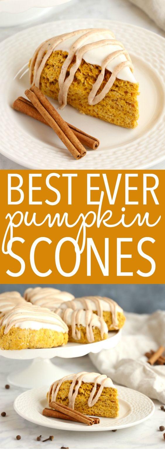 Best Ever Starbucks Pumpkin Scones
