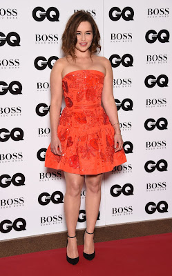 Emilia Clarke wins Woman of the year gong at GQ Men Of The Year Awards