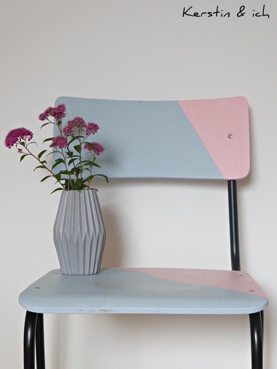 DIY Stuhl streichen mit Kreidefarbe