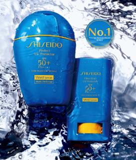 Shiseido資生堂 水離子輕香防晒露試用包