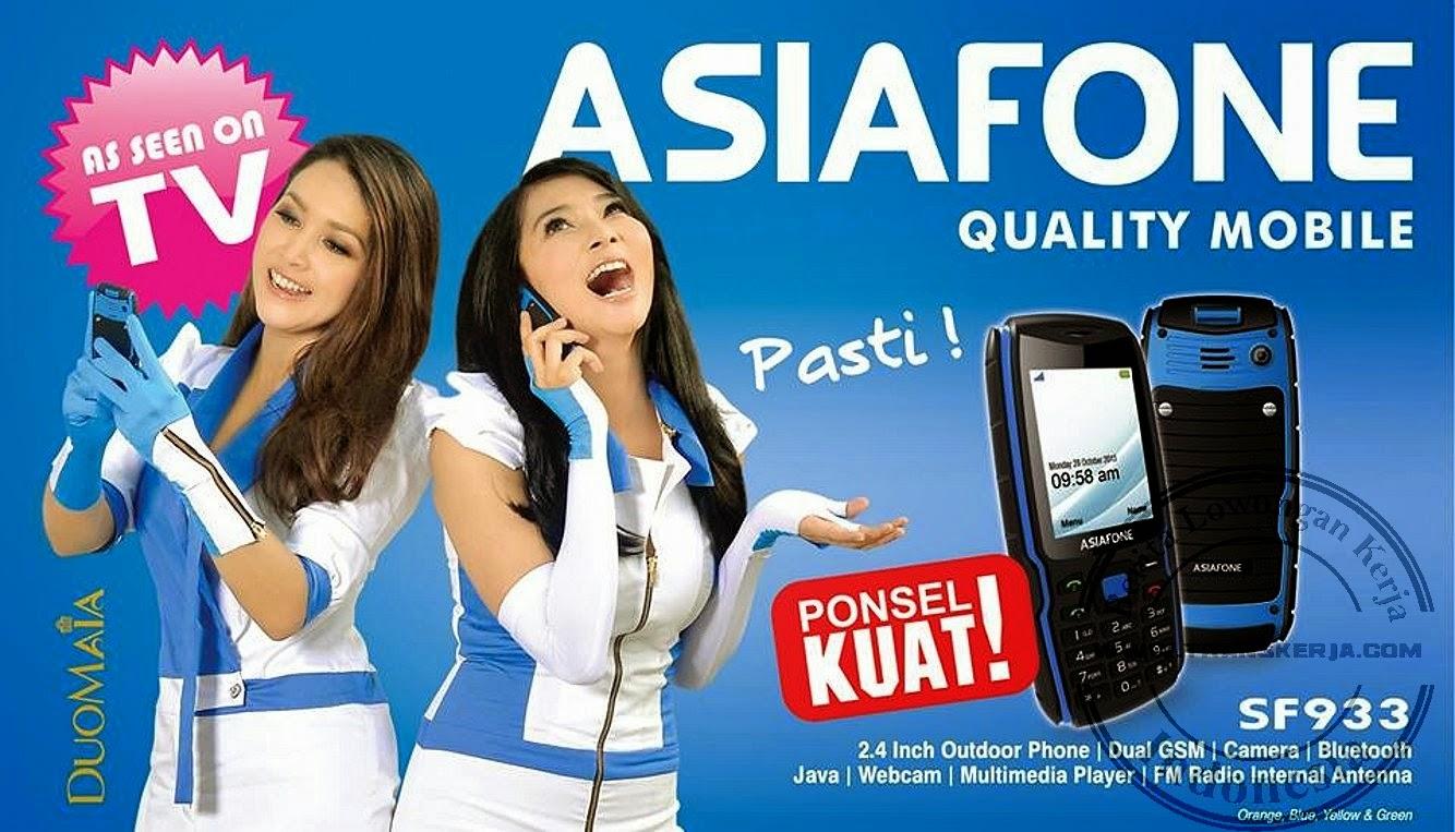 Lowongan Kerja Asiafone Mobile Sebagai Security Jakarta