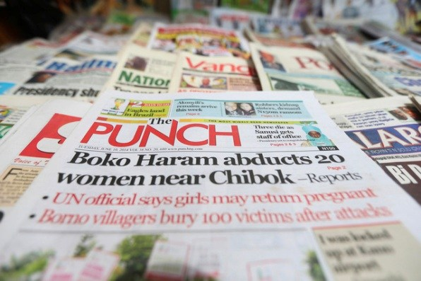 Nigerian Newspapers: Top 10 Headlines Today Sunday, April 14th, 2019
