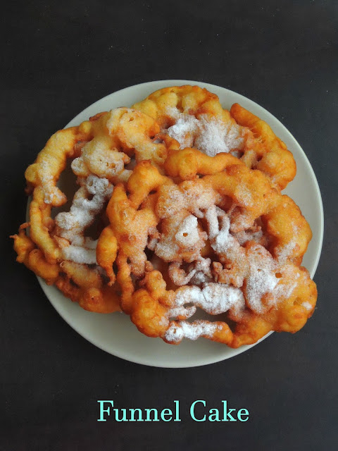 Funnel Cake, Fried Cake
