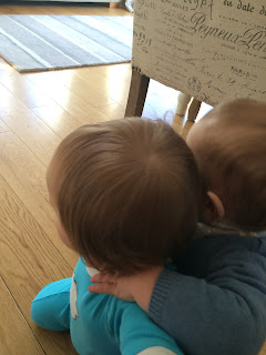 toddler cuddle