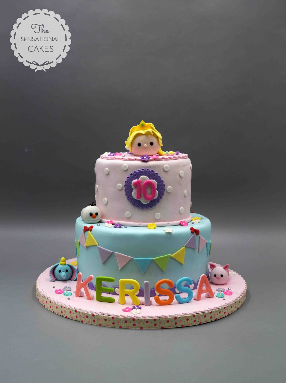 Pastel Girl Birthday Theme Cake Singapore