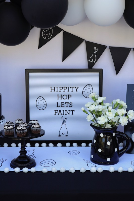 Simple Black And White Party Ideas Balloon Ideas For Parties