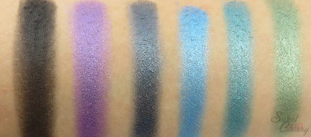 Look Battle | Sleek Original Palette #1 Swatches