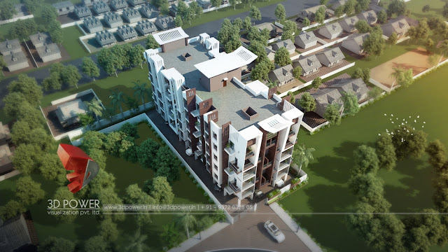 Excellent 3D Architectural Visualization company providing Apartment Walkthrough & Rendering