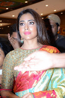 Shriya Saran Looks Stunning in Silk Saree at VRK Silk Showroom Launch Secundrabad ~  Exclusive 153.JPG