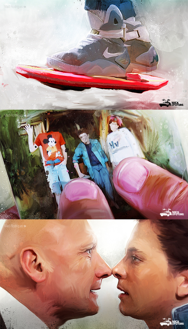 Ilustraciones de Back to The Future
