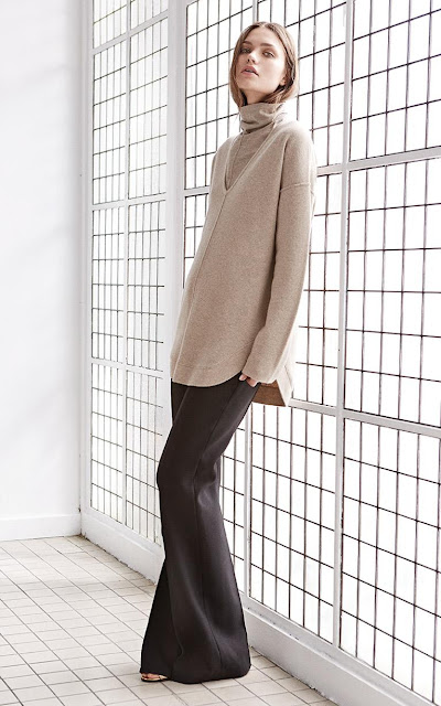 High Heels in the Wilderness: Crazy for Camel. Jigsaw camel sweater and turtleneck
