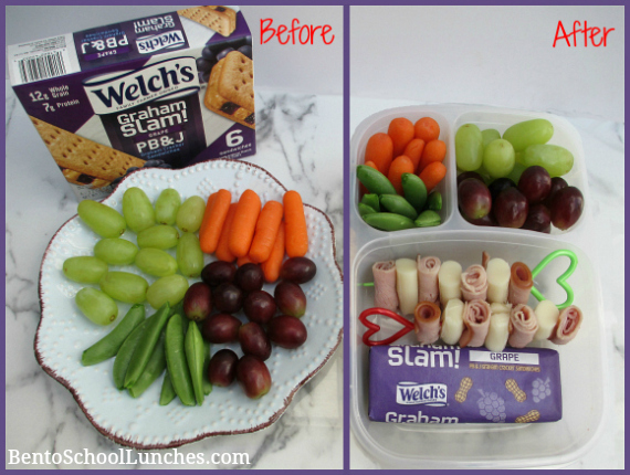 Welch's Graham Slam! PB&J In Lunchbox