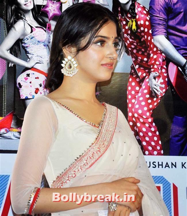 Divya Khosla Kumar in saree, Yaariyan Launch Party