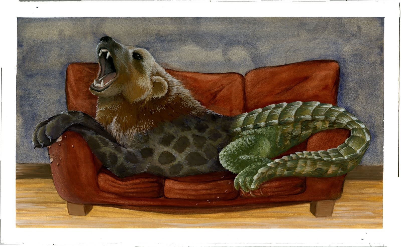 animal three combination things favorite few these painting