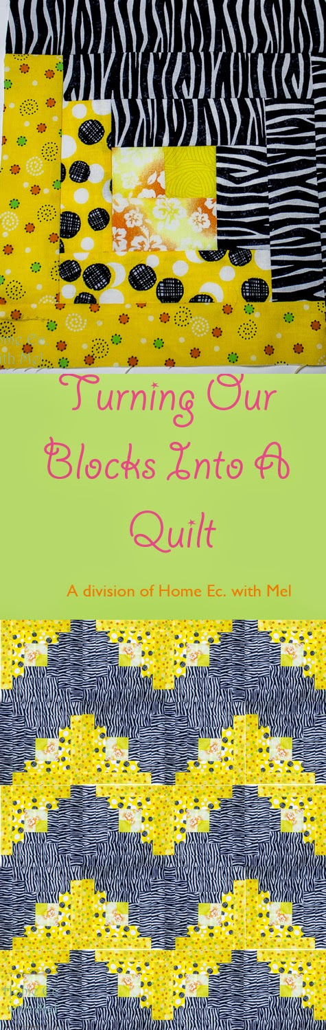 Turning Blocks into a Quilt