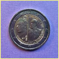 2 Euros Luxemburgo 2017 Guillaume III