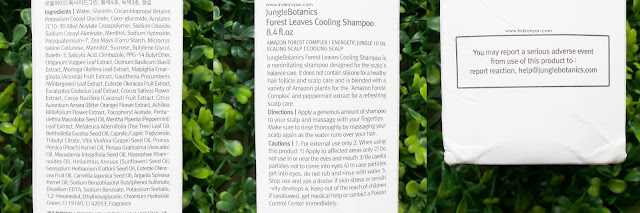 jungle-botanics-shampoo, jungle-botanics-forest-leaves-cooling-shampoo
