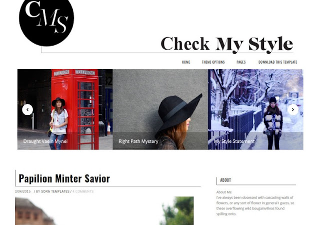 Check My Style Blogger Template