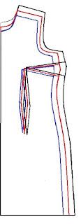 Aprenda como escalar los moldes del vestido y saque diferentes tallas a partir de un solo molde.