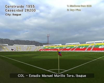 PES 6 Stadiums Manuel Murillo Toro