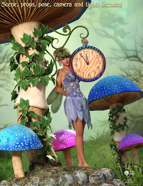 DM's Fairy Clock