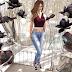 Ibela Store - Shirt & Vest Pam / Pants Denim Emma / Sneakers Raven