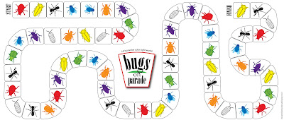 graphic regarding Game Pieces Printable named Relentlessly Exciting, Deceptively Instructive: Insects upon Parade