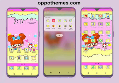 A Fun Animated Theme For Oppo Smartphones