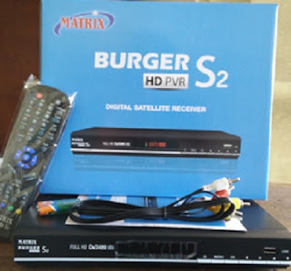 Receiver Mpeg4 HD Termurah Matrix Burger S2