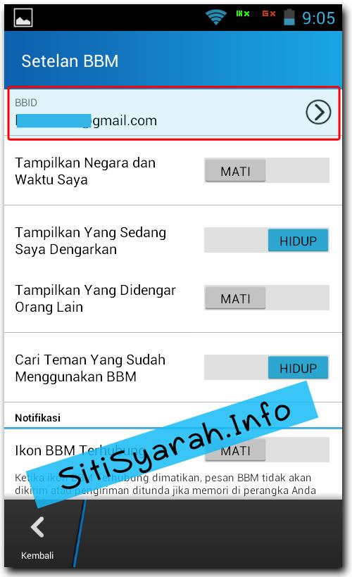 Memindahkan Kontak BBM di Android