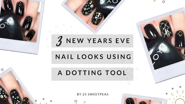 NYE Nail Art Tutorial